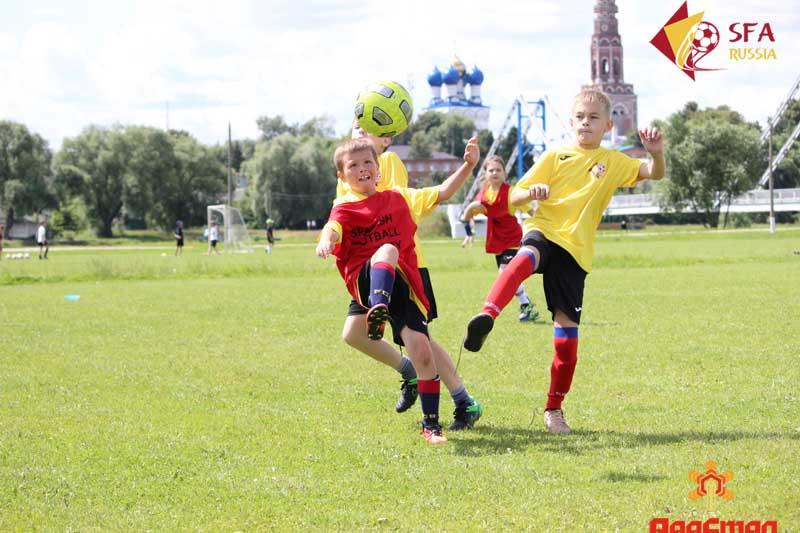 Летние футбольные сборы 2017 в Бронницах
