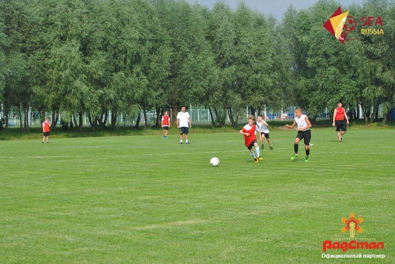 Первые тренировки на летних сборах 2016 года