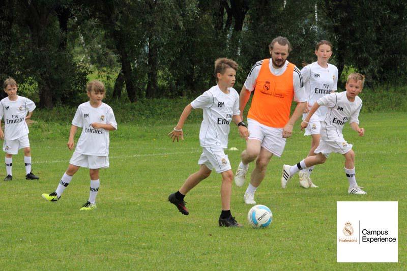 Летний лагерь Реал Мадрид в Бронницах 2015